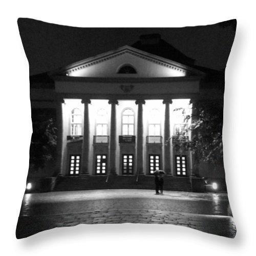Lumia1520 Throw Pillow featuring the photograph Regentheater.#regen by Mandy Tabatt