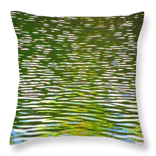 Water Throw Pillow featuring the photograph Relaxation by Sybil Staples