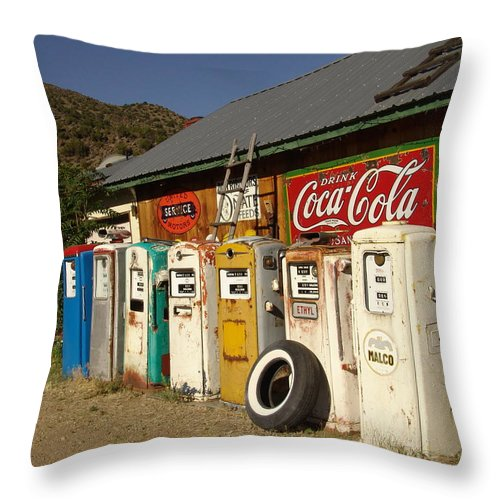Auto Throw Pillow featuring the photograph Remember When by Carol Milisen