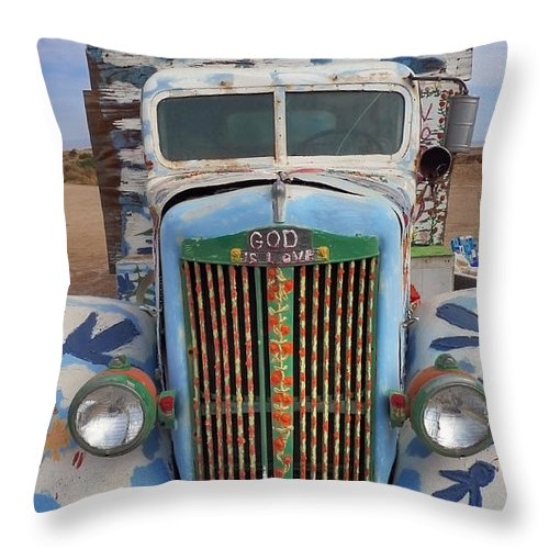 Repent Throw Pillow featuring the photograph Repent by Skip Hunt