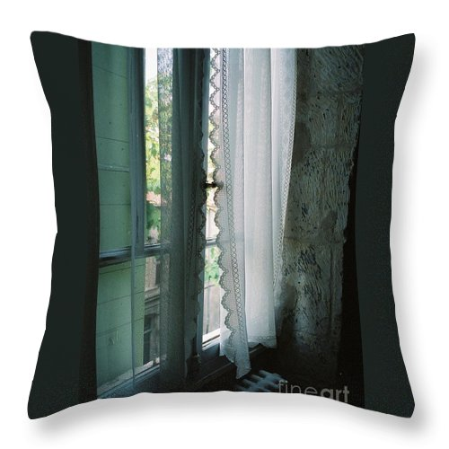 Arles Throw Pillow featuring the photograph Rest by Nadine Rippelmeyer