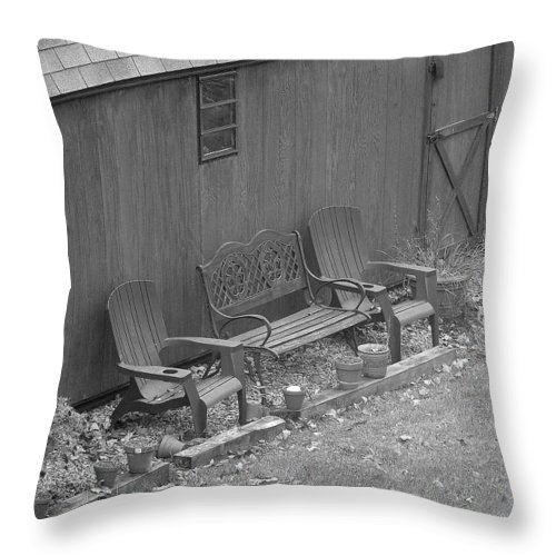 Throw Pillow featuring the photograph Resting Place by Luciana Seymour