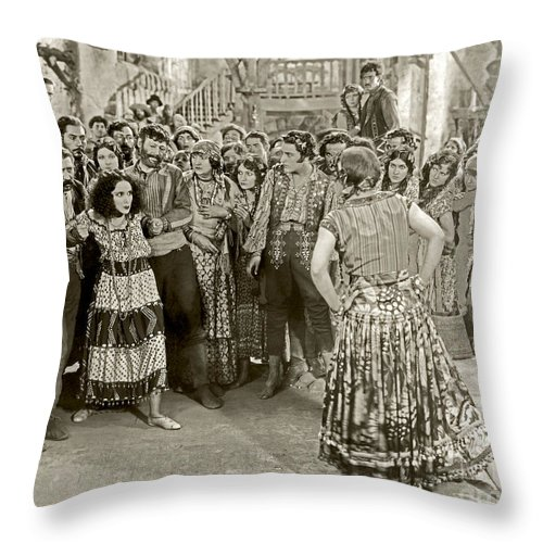 Revenge 1928 Dolores Del Rio Throw Pillow For Sale By Sad Hill