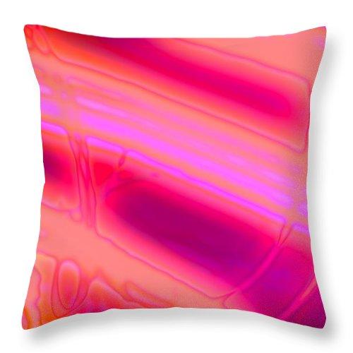 Art Digital Art Throw Pillow featuring the digital art Rib3mlv1 by Alex Porter