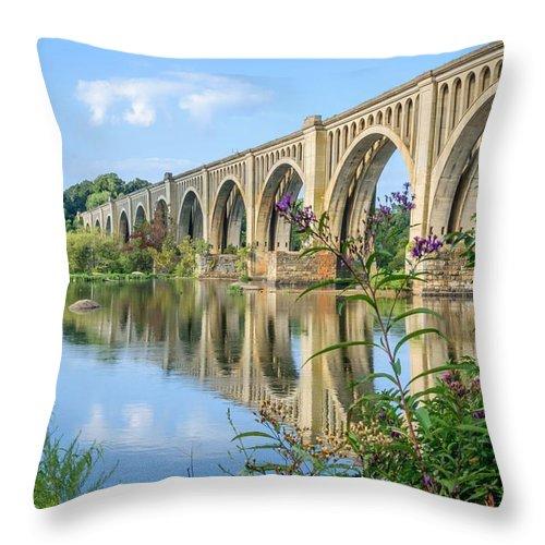 Richmond Virginia Bridge Throw Pillow For Sale By Shannon