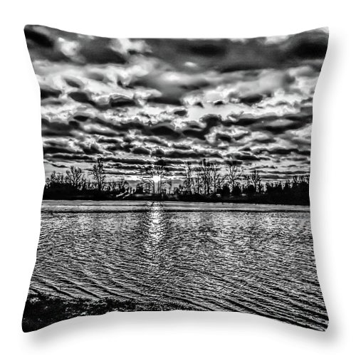 Water Throw Pillow featuring the photograph Ripples by Chad Fuller