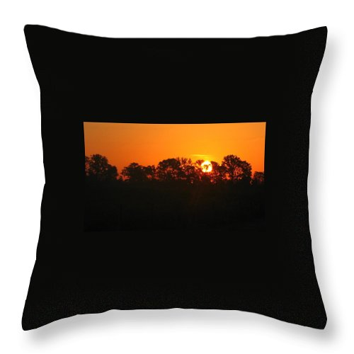 Sunrise Throw Pillow featuring the photograph Rise And Shine by Brittany Horton