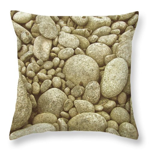 River Throw Pillow featuring the photograph River Carpet by JAMART Photography