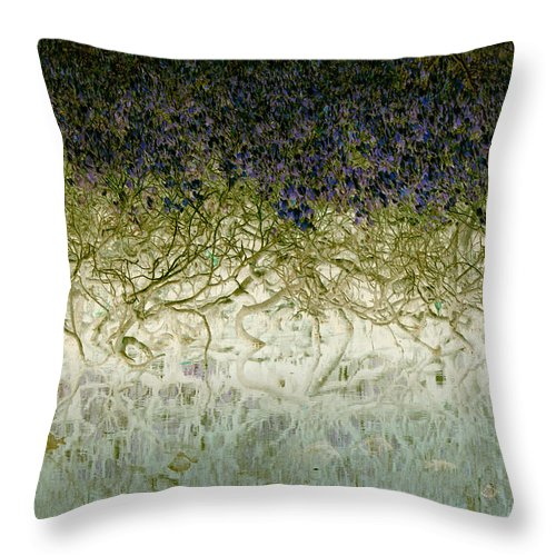 Landscapes Throw Pillow featuring the photograph River Of Life by Holly Kempe