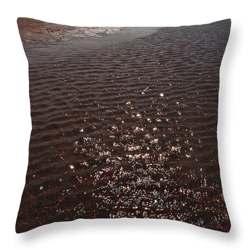 Prince Edward Island Throw Pillow featuring the photograph Rollo Bay Prince Edward Island Canada by Steve Somerville