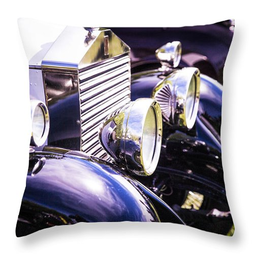 Throw Pillow featuring the photograph Rolls by Timoke Brown