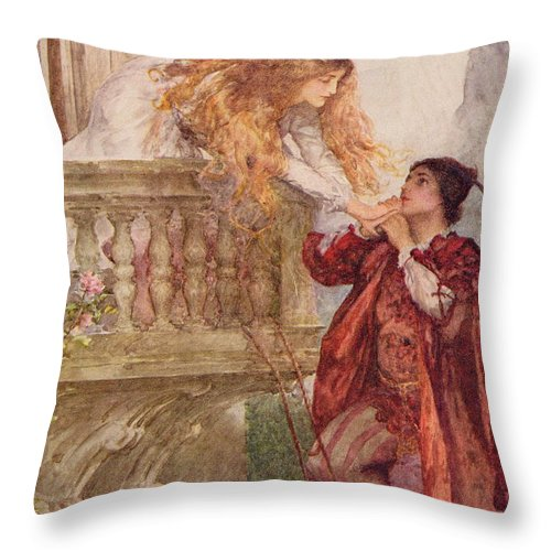 Romeo And Juliet From Children S Stories From Shakespeare By Edith Delectable Children's Decorative Pillows