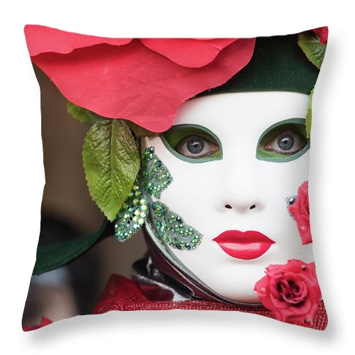 Rose Throw Pillow featuring the photograph Roses I by Stefan Nielsen