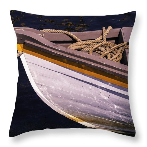 Museum Throw Pillow featuring the photograph Row It by Joe Geraci