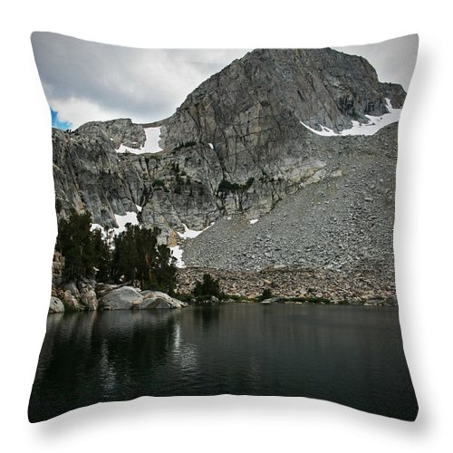 Throw Pillow featuring the photograph Rugged Territory by Chris Brannen