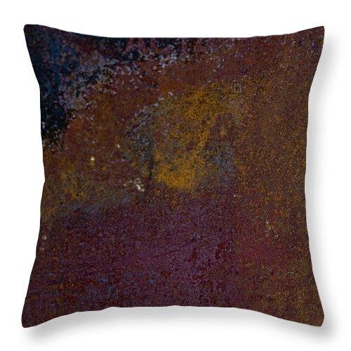 Rust Throw Pillow featuring the photograph Rusted by Hannah Breidenbach