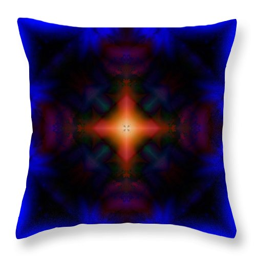 Fire Throw Pillow featuring the digital art Sail Away by Robert Orinski