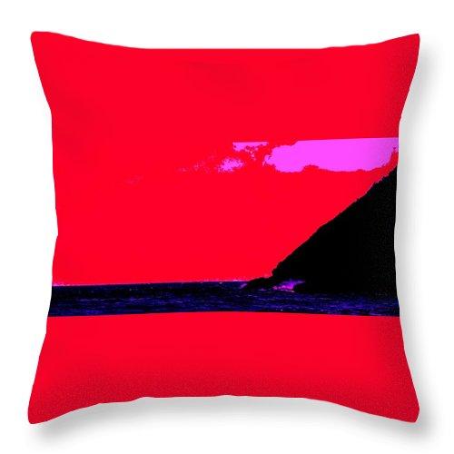 Morning Throw Pillow featuring the photograph Sailor Take Warning by Ian MacDonald