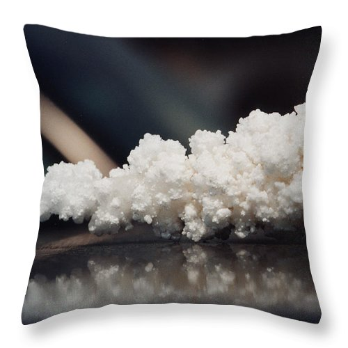 Salt Without Pepper Throw Pillow featuring the photograph Salt Without Pepper by Adrian Bud