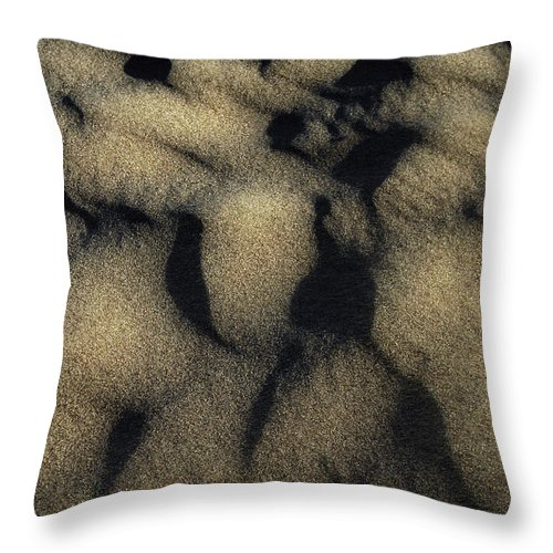Sand Throw Pillow featuring the photograph Sands Of Time by Donna Blackhall
