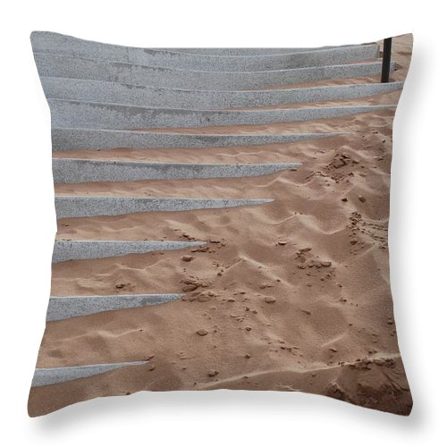Pop Art Throw Pillow featuring the photograph Sands Of Time by Rob Hans