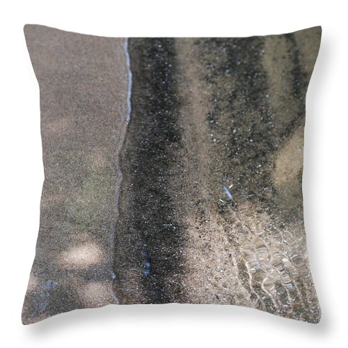 Sand Throw Pillow featuring the photograph Sands Of Time by StudioBoldt  Photography