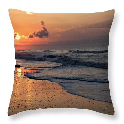 Sunrise Throw Pillow featuring the photograph Saturday Morning by Jerry Connally