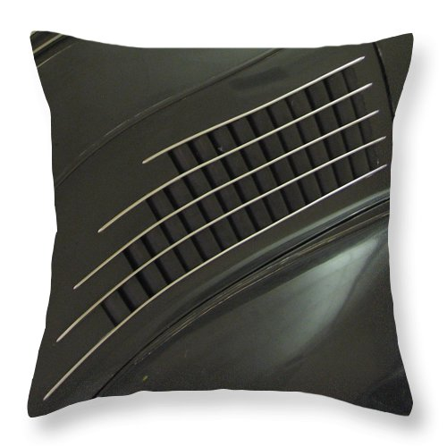 Stout Throw Pillow featuring the photograph Scarab Lines by Kelly Mezzapelle