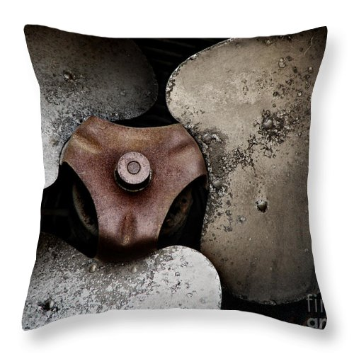 Old Throw Pillow featuring the photograph Scars Never Cease To Be So Beautiful To Me by Dana DiPasquale