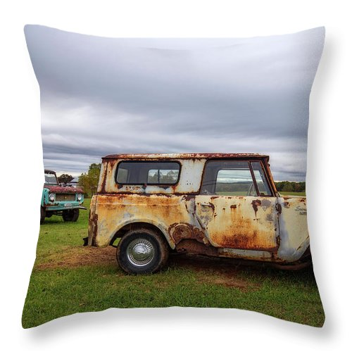 International Throw Pillow featuring the photograph Scouts And Sky by Alan Raasch