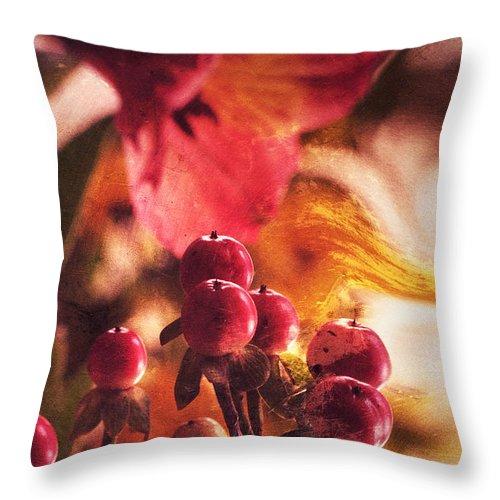 Flowers Throw Pillow featuring the photograph Secrets... by Arthur Miller