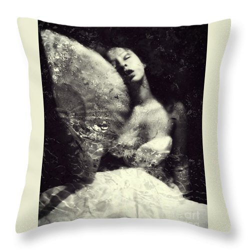 Throw Pillow featuring the photograph Sensual by Jessica Shelton