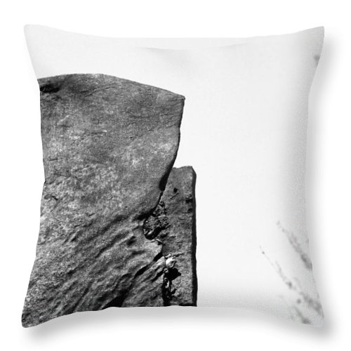September 11 Throw Pillow featuring the photograph Sept 11 Wtc by Carmine Taverna