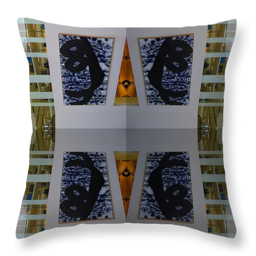 San Francisco Throw Pillow featuring the photograph Sf Neiman Marcus Six by Tina M Wenger