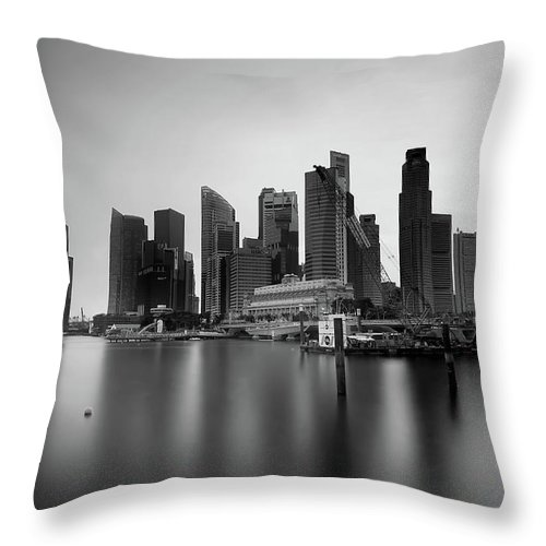 Throw Pillow featuring the photograph SG by 777aan