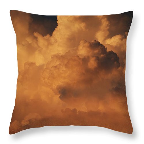 Clouds Throw Pillow featuring the photograph Shades Of Color by Rob Hans