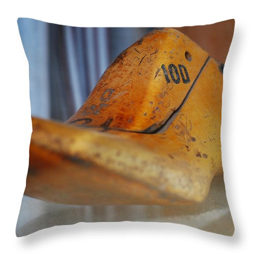 Wooden Throw Pillow featuring the photograph Shape Shifter by Skip Hunt