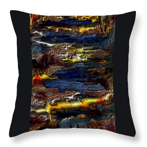 Metal Reflections Throw Pillow featuring the photograph Sheet Metal by Joanne Smoley