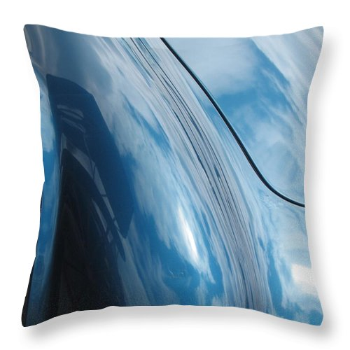 Cobra Throw Pillow featuring the photograph Shelby Dreams by Kelly Mezzapelle