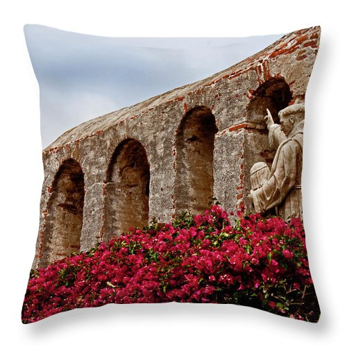 San Throw Pillow featuring the photograph Showing The Way by David Kehrli