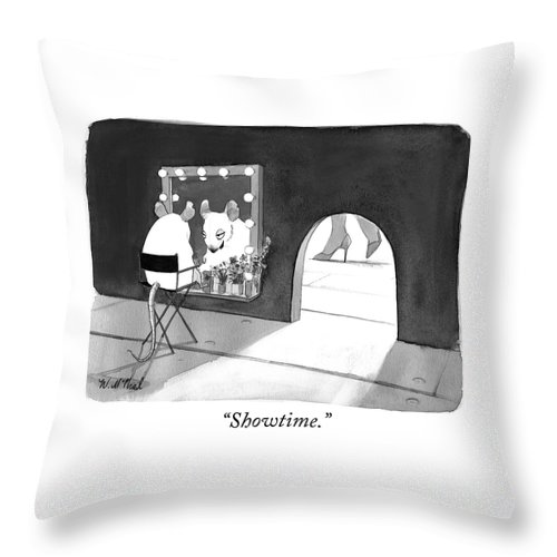 """""""showtime."""" Throw Pillow featuring the photograph Showtime by Will McPhail"""