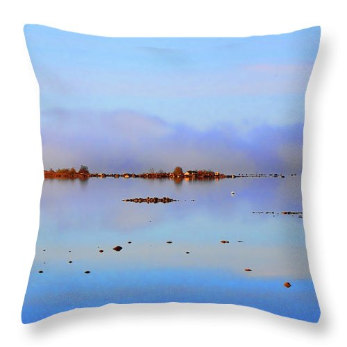 Nature Photography Throw Pillow featuring the photograph Simplicity by Cathy Beharriell