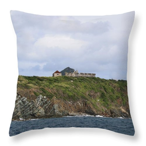 Canon Throw Pillow featuring the photograph Sitting On Top by John W Smith III