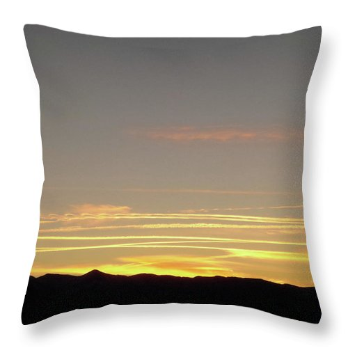 Sky Throw Pillow featuring the photograph Sky Lines by Stephanie Moore