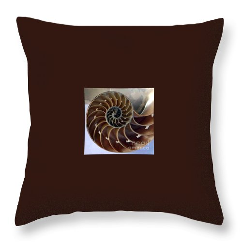 Snail Throw Pillow featuring the photograph Snail by Dragica Micki Fortuna