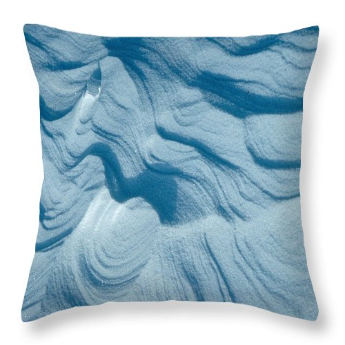 Snow Throw Pillow featuring the photograph Snow by Flavia Westerwelle
