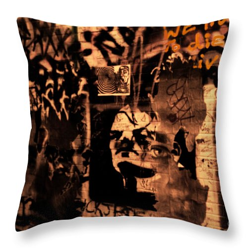Ann Arbor Throw Pillow featuring the photograph So Live Your Life by September Stone