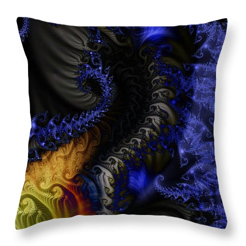 Clay Throw Pillow featuring the digital art Social Classes by Clayton Bruster