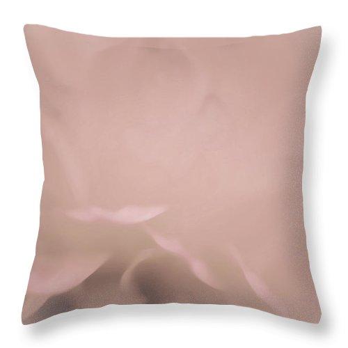 Throw Pillow featuring the photograph Soft Tender Flower by The Art Of Marilyn Ridoutt-Greene