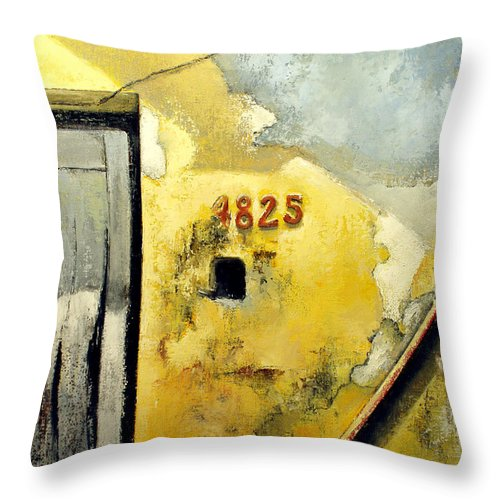 Havana Throw Pillow featuring the painting Solana by Tomas Castano